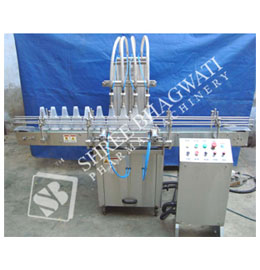 Automatic Eight Head Vertical Air Jet Cleaning Machine