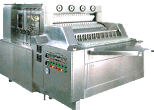 AAutomatic Linear Tunnel type Bottle Washing Machine Manufacturers & Exporters from India