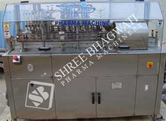 Automatic External Bottle Washing Mmachine Model NO. SBEW-200 GMP Model
