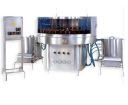 Semi-Automatic Rotary Bottle Washing Machine Manufacturers & Exporters from India